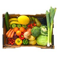 Fruit and Vegetable Box delivered from Caterfish in Birmingham